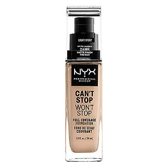 NYX Prof. MAKEUP can't Stop won't Stop Foundation-Light ivory