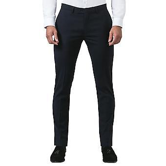Воспользоваться Лондоне ВМС мужской костюм брюки Slim Fit