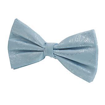 Los muchachos de Dobell luz Paisley azul corbata de moño atado previamente