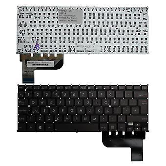 ASUS Zenbook UX21A-K1010V Backlit versie (zonder Backlit Board) bruin UK lay-out vervanging Laptop toetsenbord