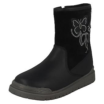 Girls Startrite Aqua-Rite Butterfly Detailed Boots Tidal