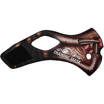 Hoogte opleiding masker 2.0 Predatore hoes - zwart