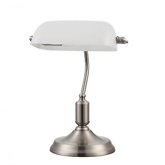 Maytoni Lighting Kiwi Table & Floor Table Lamp, Nickel