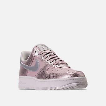 Nike Womens Air Force 1 '07 Premium Leather Low Top Lace Up Basketball Shoes