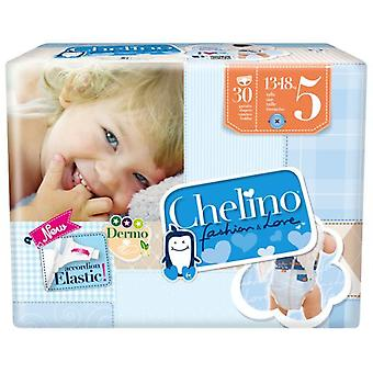 Chelino Fashion and Love Diapers Pasitos Size 5 30 pcs