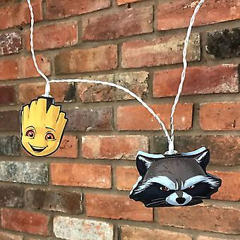 Marvel Guardians of the Galaxy Groot and Rocket Raccoon 2D String Lights