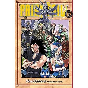 Fairy Tail 13 by Hiro Mashima - 9781935429326 Book