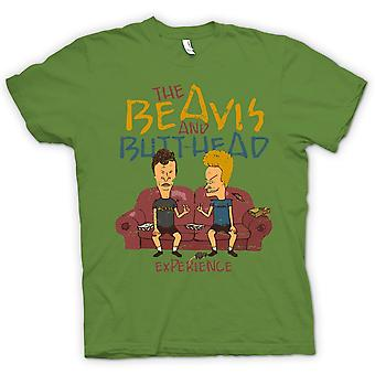 Womens T-shirt - The Beavis And Butthead Experience - Funny