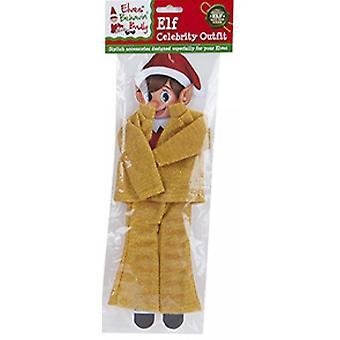 Elves Behavin Badly - Elf Glitter Celebrity Outfit - Gold