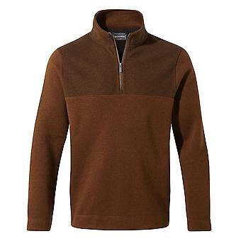 Craghoppers Mens Taransay Half Zip Insulated Fleece Jacket