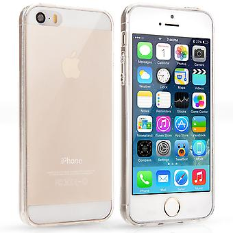 Yousave Accessories iPhone 5 5S Ultra Thin Clear Gel Case