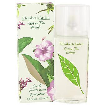 Grønn te eksotisk Eau de Toilette spray av Elizabeth Arden 100 ml