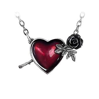 Alchemy Gothic Wounded By Love Pewter Pendant