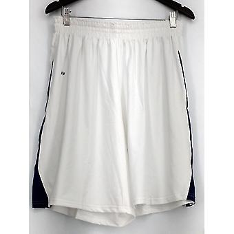 Team Holloway Plus Shorts (XXL) Elastic Waist Color Blocked White