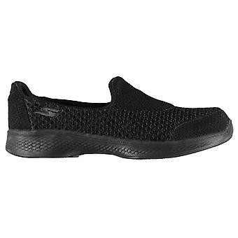 Skechers piger GOwalk 4 Kindle trænere casual sko sneakers børn