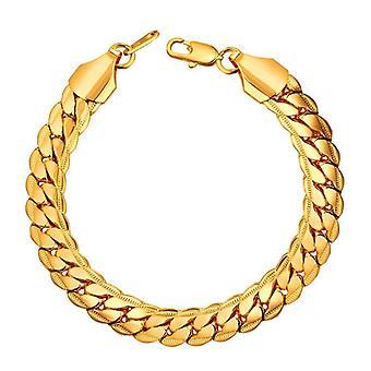 Armband - Kubansk Länk, Guld