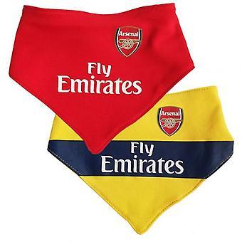 Arsenal 2 Pack Bibs YL