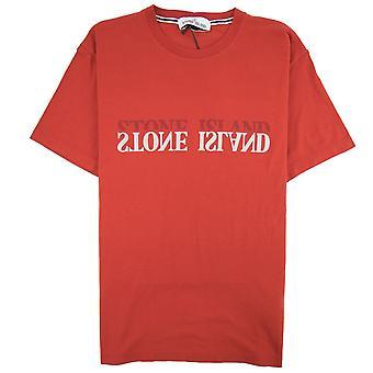 Stone Island Graphic Six T-shirt Red V0015