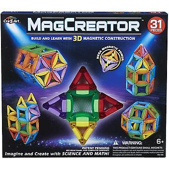 MagCreator Byggset, 31 PCs