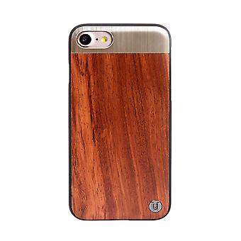 iPhone 8/7 Rose Wood Hard Shell Brown
