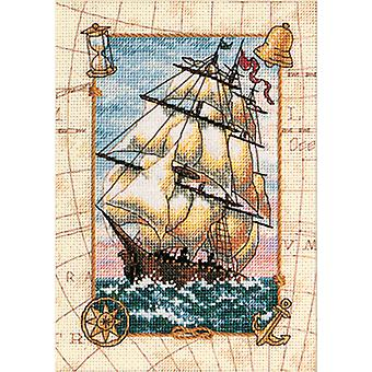 Gold Collection Petite Voyage At Sea Counted Cross Stitch Ki 5