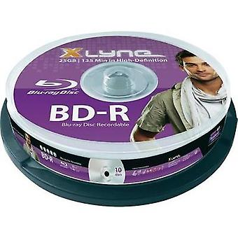 Blank Blu-ray BD-R 25 GB Xlyne 8010000 10 pc(s) Spindle