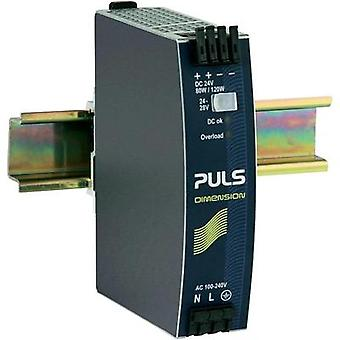 Rail mounted PSU (DIN) PULS DIMENSION QS3.241 24 Vdc 3.4 A 80 W 1 x