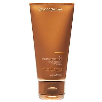 Académie bronz'express tinted gel face self Tanner 75 ml