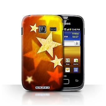 STUFF4 Case/Cover for Samsung Galaxy Y Duos/S6102/Stars/Christmas Decorations