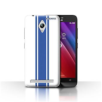 STUFF4 Case/Cover for Asus Zenfone Go ZC500TG/American Muscle/Racing Car Stripes