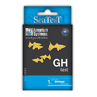 Aquarium Systems Sea Test Gh (Fish , Maintenance , pH & Other Substance Test Strips)