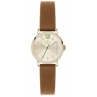 Orla Kiely Frankie Brown Leather Strap OK2018 Watch