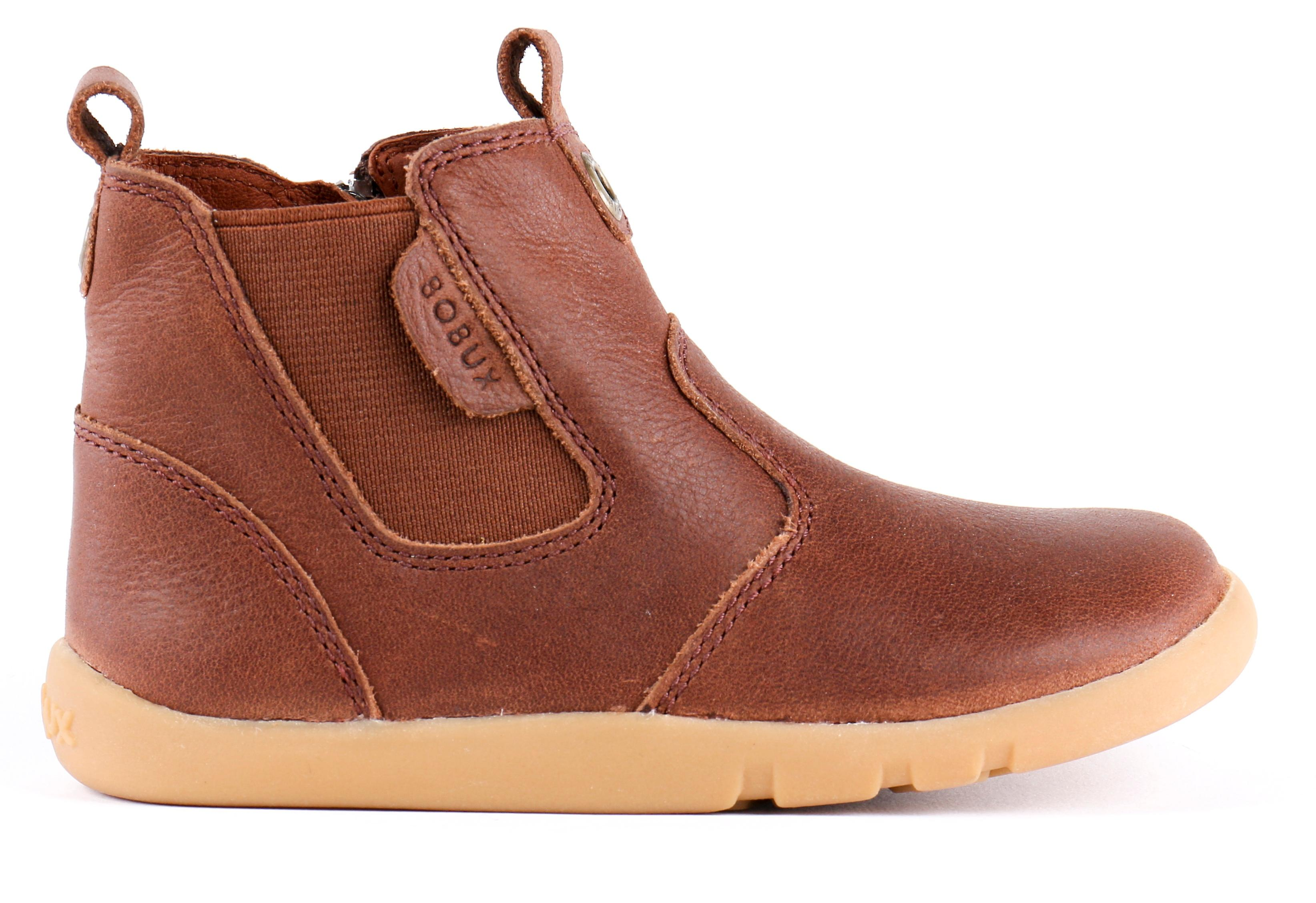 Bobux I-walk Boys Outback Boots Toffee