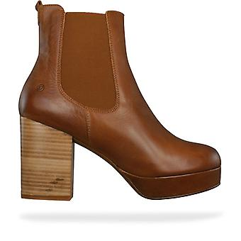 SixtySeven 67 Laleh Volevo Womens Leather Ankle Boots - Chesnut