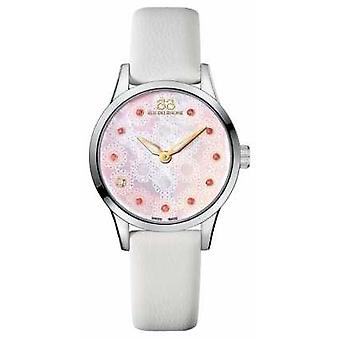88 Rue du Rhone Rive 32mm Ladies Quartz White Leather 87WA153209 Watch