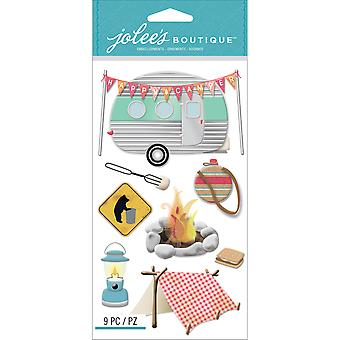 Jolee's Boutique Dimensional Stickers-Camping E5050623