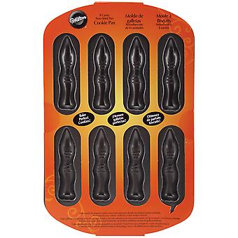 Niet-Stick Cookie Pan-vingers 8 holte W0511