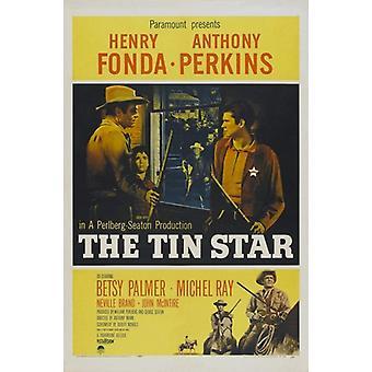 De Tin Star Movie Poster (11 x 17)