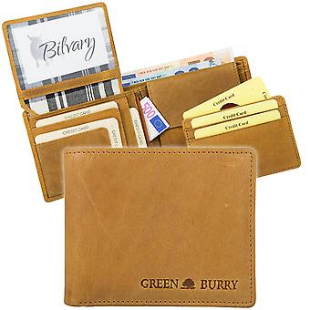 Monedero de cuero de Greenburry Buffalo Chromefree 1986-24