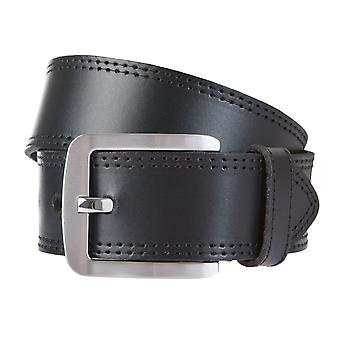 BERND GÖTZ belts men's belts leather belt leather black 765