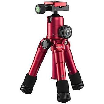 Tripod Mantona 1/4, 3/8 ATT.FX.WORKING_HEIGHT=17 - 49.5 cm Red Ball head