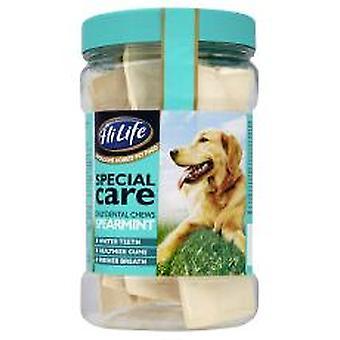 Hilife særlige pleje daglige Dental tygger Spearmint 12's (pakke med 3)