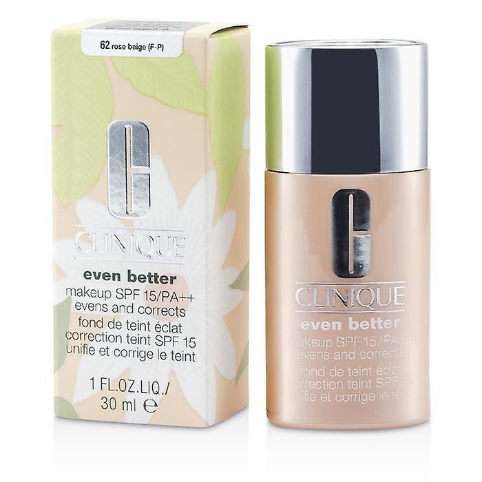 Clinique Even Better Makeup SPF15 (Dry Combination to Combination Oily) - No. 62 Rose Beige 30ml/1oz