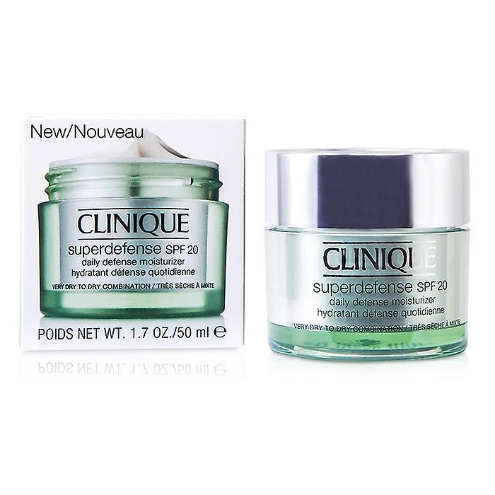 Clinique Superdefense Daily Defense Moisturizer SPF 20 (Very Dry to Dry Combination) 50ml/1.7oz