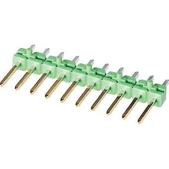 Pin strip (standard) No. of rows: 1 Pins per row: 4 TE Connectivity 825433-4 1 pc(s)