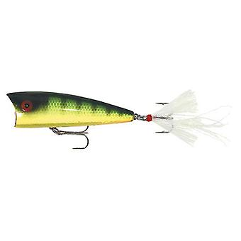 Rebel Pro Pop-R Plus 1/4 oz Fishing Lure - Red Eye Perch