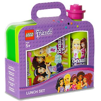 Lego Friends Lunch Box Set (Home , Babies and Children , Eat , Kitchenware)