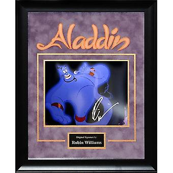 Aladdin - Signed Robin Williams Movie Photo - Framed Artist Series