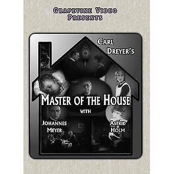 Master av House (1925) [DVD] USA import