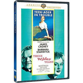 These Wilder Years (1956) [DVD] USA import